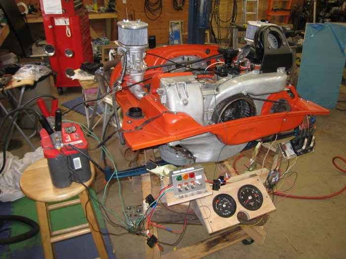 Van S Porsche 914 Engine Build